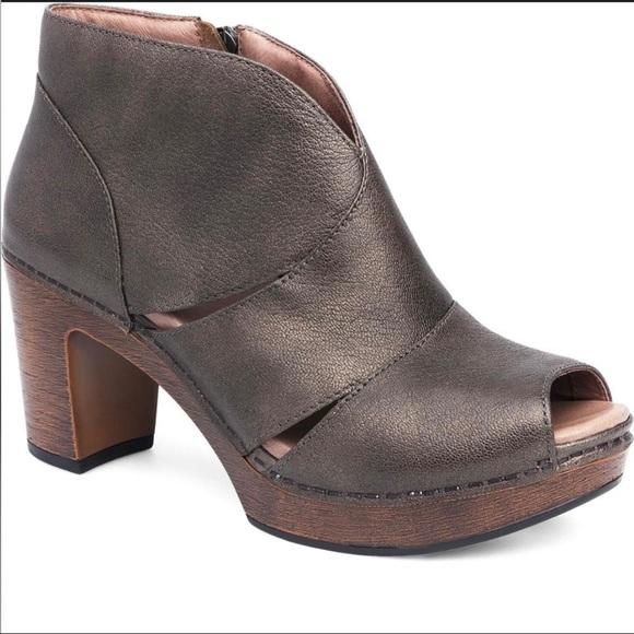 Dansko Shoes | Delphina Peep Toe